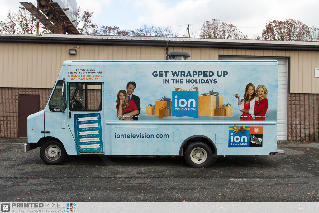 ION Television - Get Wrapped Up, great driver side photo