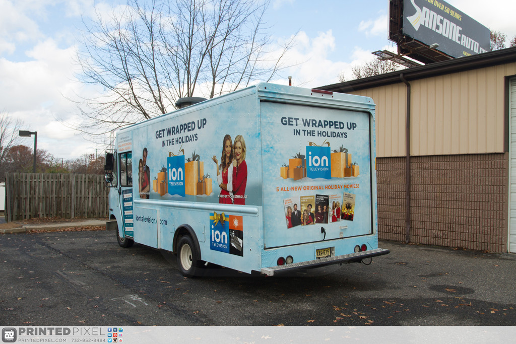 ION Television - Get Wrapped Up, 3/4 view of driverside rear