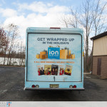 ION Television - Get Wrapped Up, rear view of truck