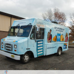 ION Television - Get Wrapped Up, driver side 3/4 view of truck, closer view