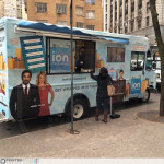 ION Television - Get Wrapped Up, outside in New York City