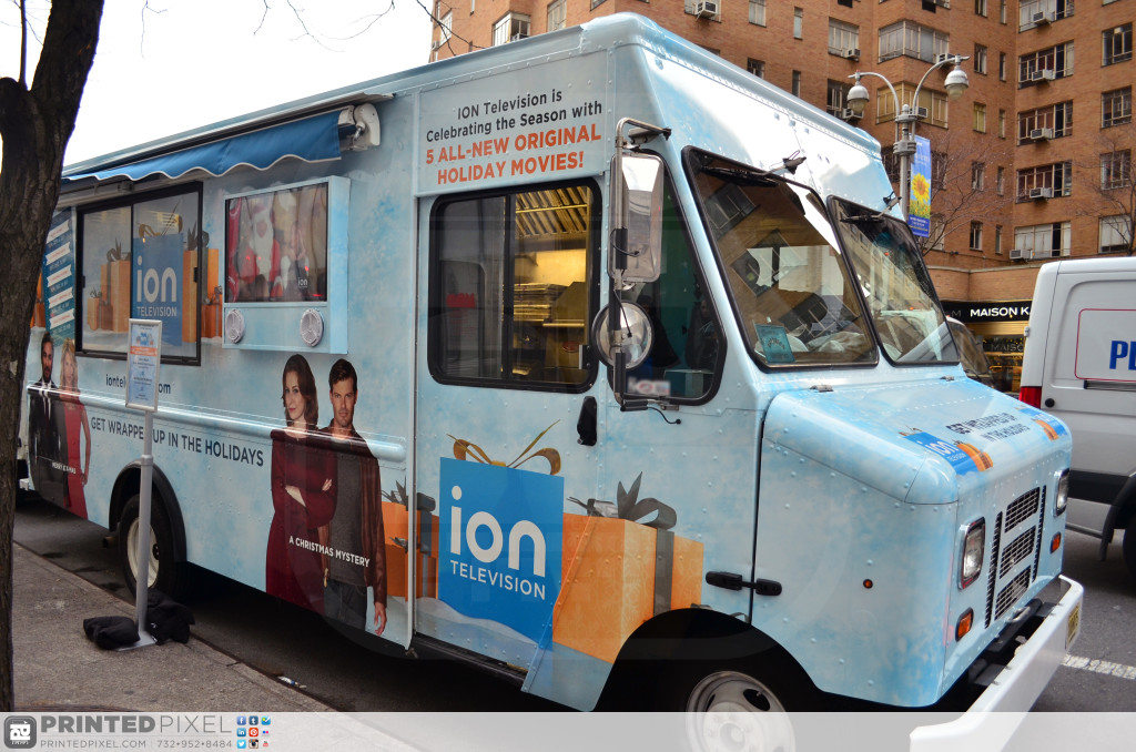 ION Television - Get Wrapped Up, passenger side exterior on promotional site