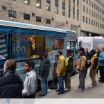 ION Television - Get Wrapped Up, awesome shot of truck exterior with long lines waiting