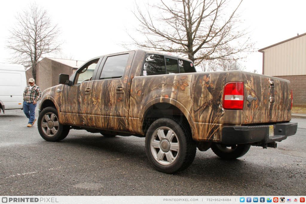 Ford F-150 King Ranch – Custom Camo