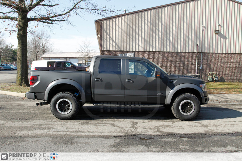 2014 Ford Raptor - Matte Black: Color Change