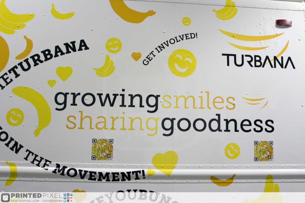 Turbana - Growing Smiles, Sharing Goodness, Promotional Truck