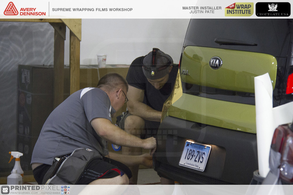 Avery Dennison Supreme Wrapping Films Workshop bumper install.